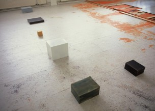 box 1 to 6 2003 - 2007 oil on aluminium dimensions variable ABCcollection