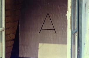 A 1982 (the hague) oil on paper 180 x 180 cm