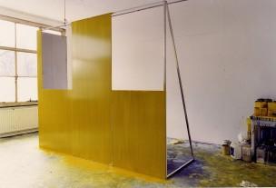 wall 1  2001  oil on aluminium  247 x 303 x 104  ABCcollection  stedelijk museum schiedam