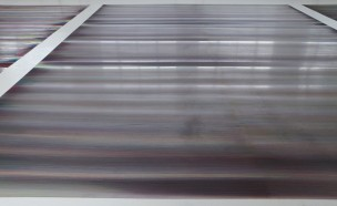 floor 7 (series of large floors) oil on aluminum 400 x 450 cm